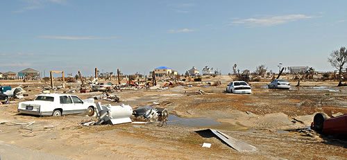 Flood Panel™ Consultancy - Hurricane Ike effects in Texas