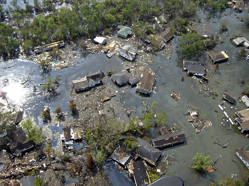 Flood Panel™ Consultancy - Hurricane Katrina effects at Port Sulphur