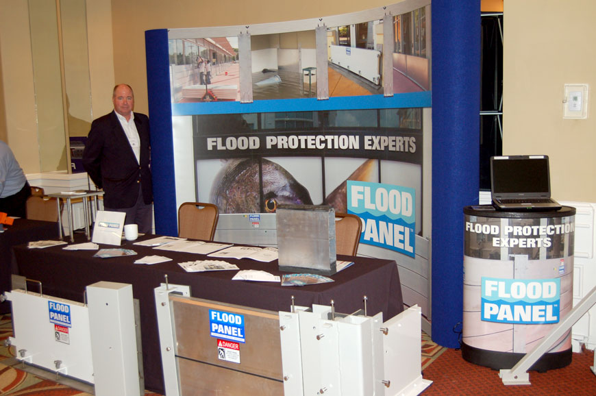 Team Flood Panel / Expo Booth