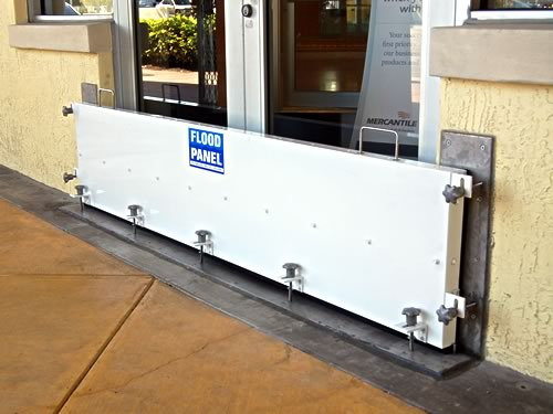 Flood barriers, flood protection for commercial property