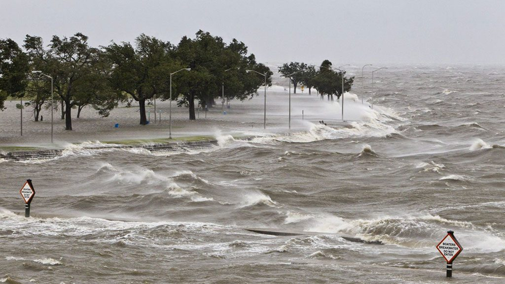 NOAA Storm Surge Warning