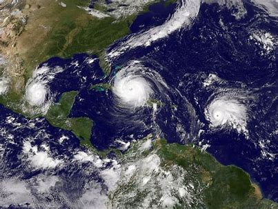 Hurricanes threaten the U.S.