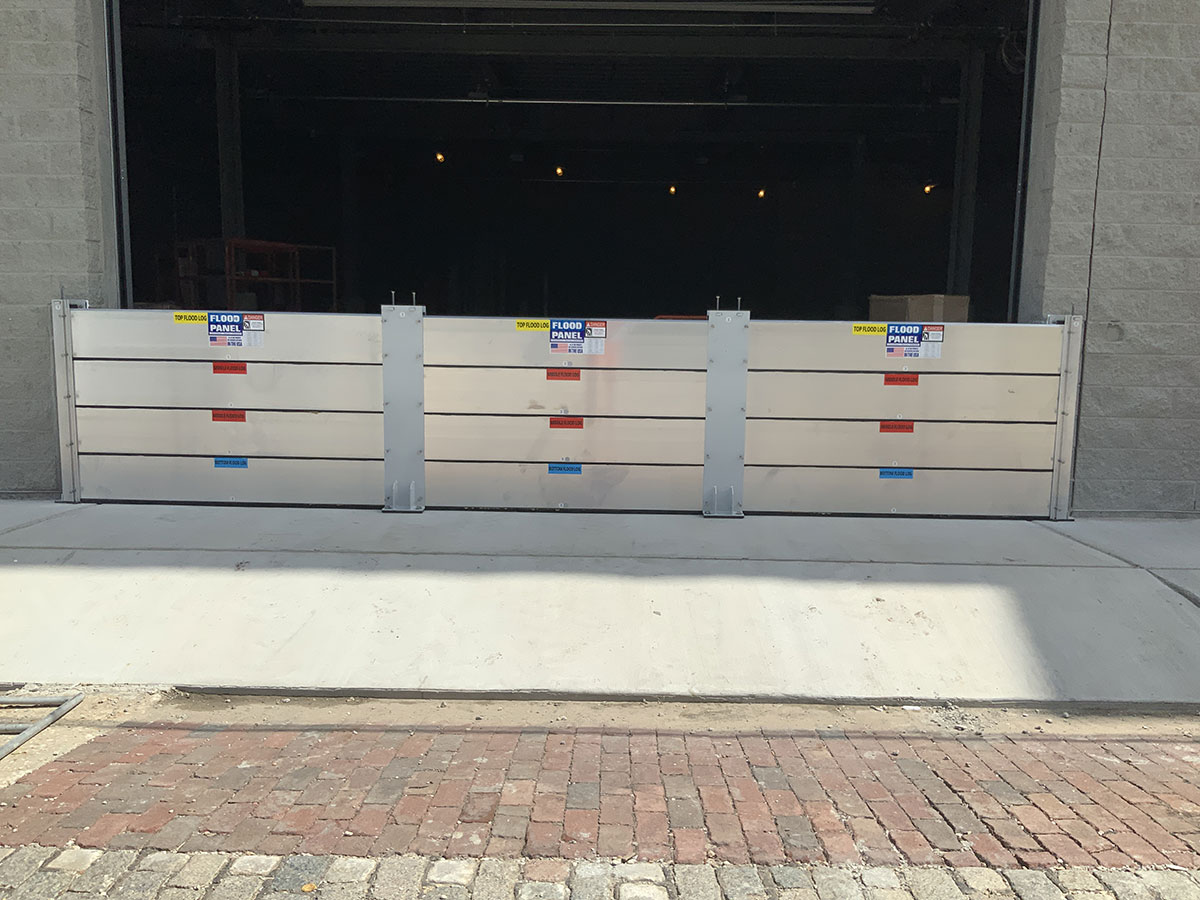 919 Erato. New Orleans, LA - Flood Panel