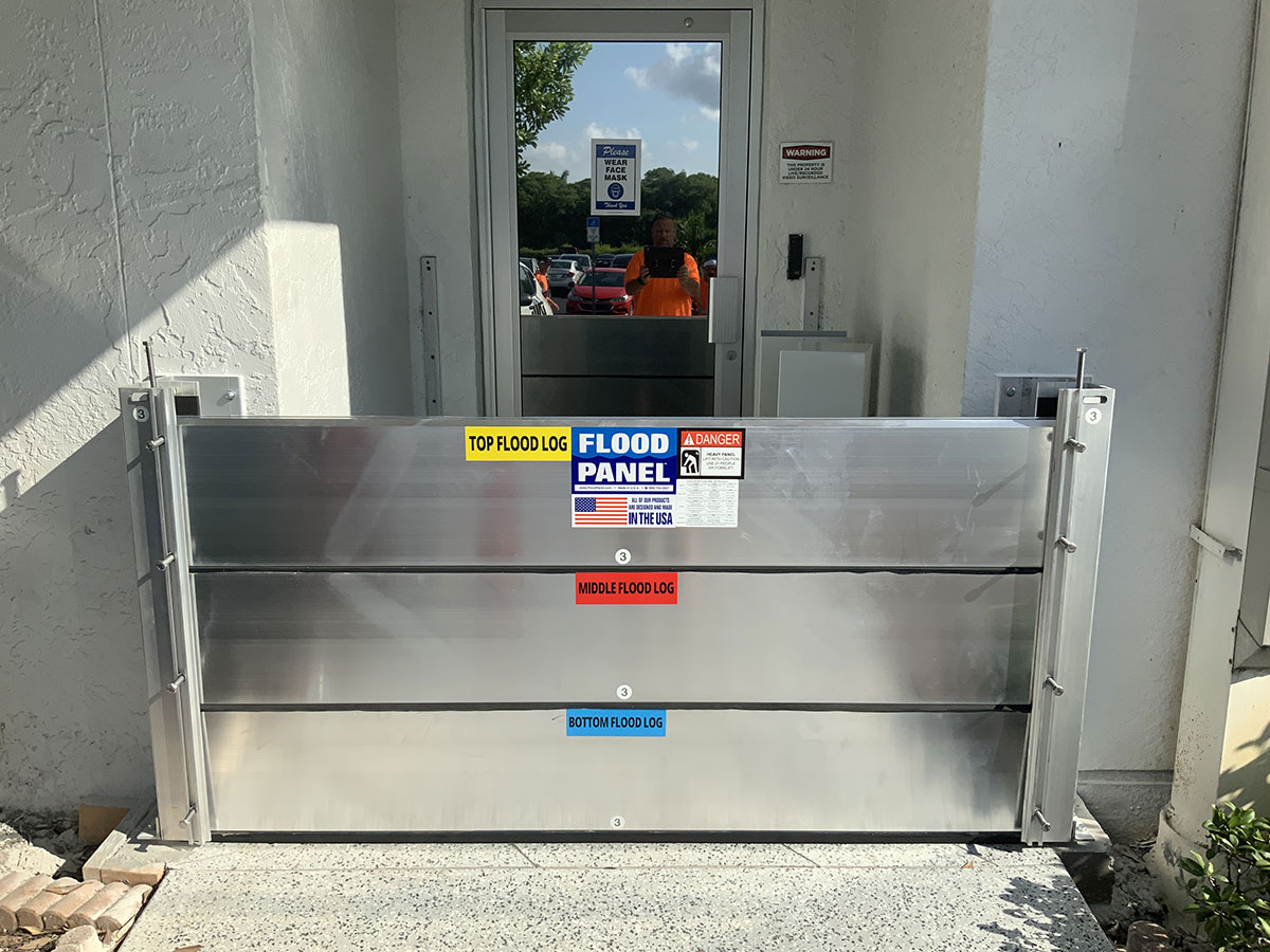 Ft Myers Broadcasting. Ft Myers, FL - Flood Barriers