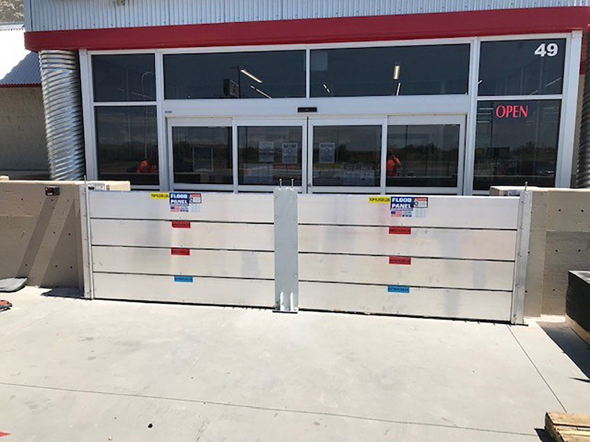 Tractor Supply Company, Belen, NM - Flood Logs