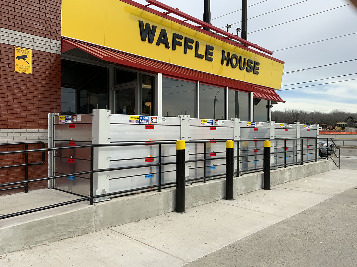 Waffle House, Cayce, SC - Flood Protection